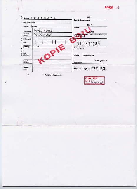 Stasi file P. 1